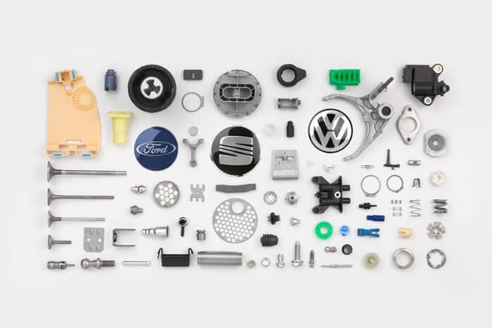 peces per a automoció elaborades amb sistemes elèctrics