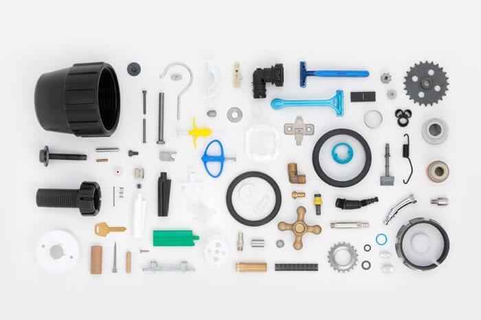 peces per a altres sectors de la indústria